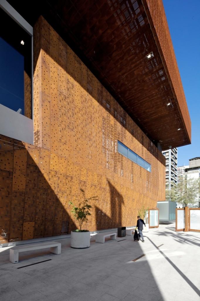 Gabriela Mistral Cultural Center by Cristian Fernandez + Lateral