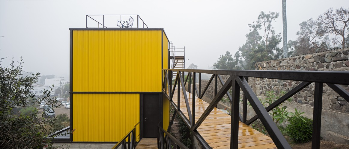 Yellow House in Zapallar, by Aguiló+Pedraza Arquitectos (18)
