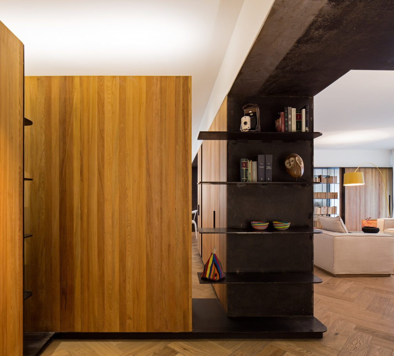 Apartment in Parque Forestal by Aguilo+Pedraza Arquitectos