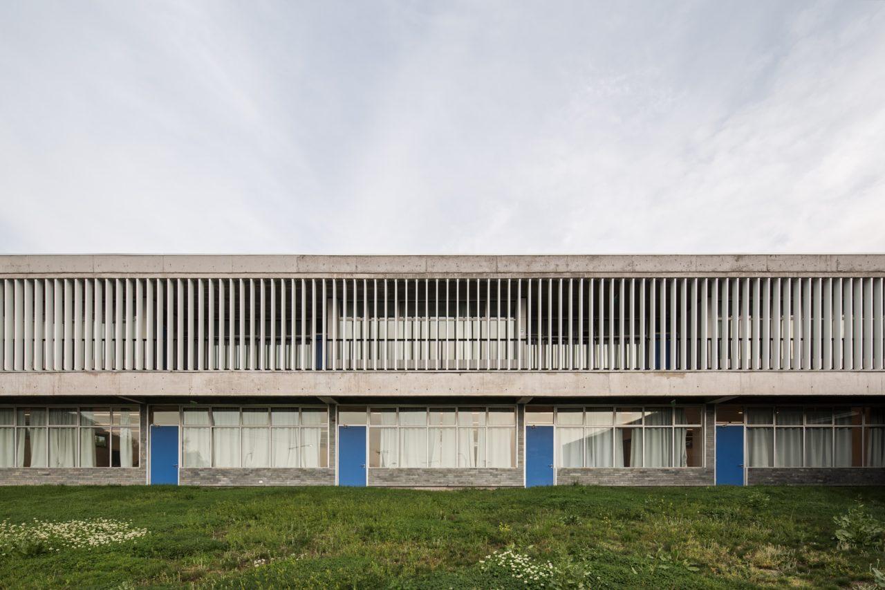 Lycée Antoine De-Saint Exupéry Chicureo by Mas Fernandez Arquitectos