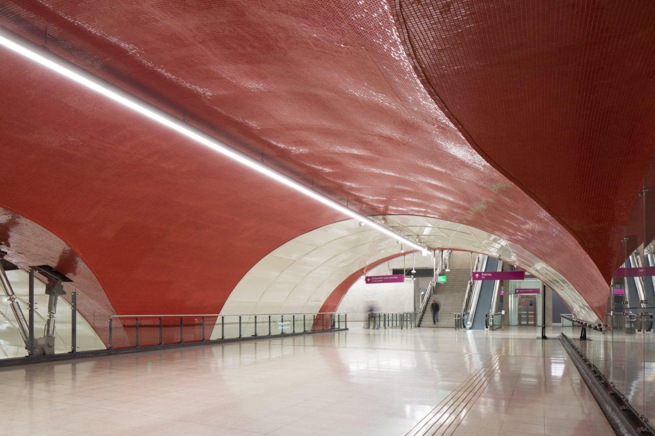 Line 6 Santiago Metro Stations by IDOM