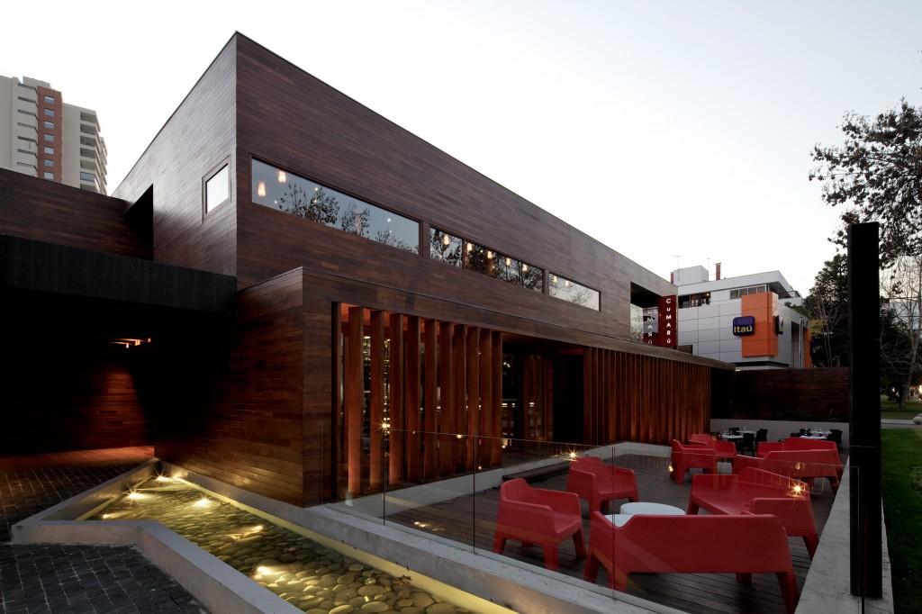 Cumarú Restaurant by Gonzalo Mardones