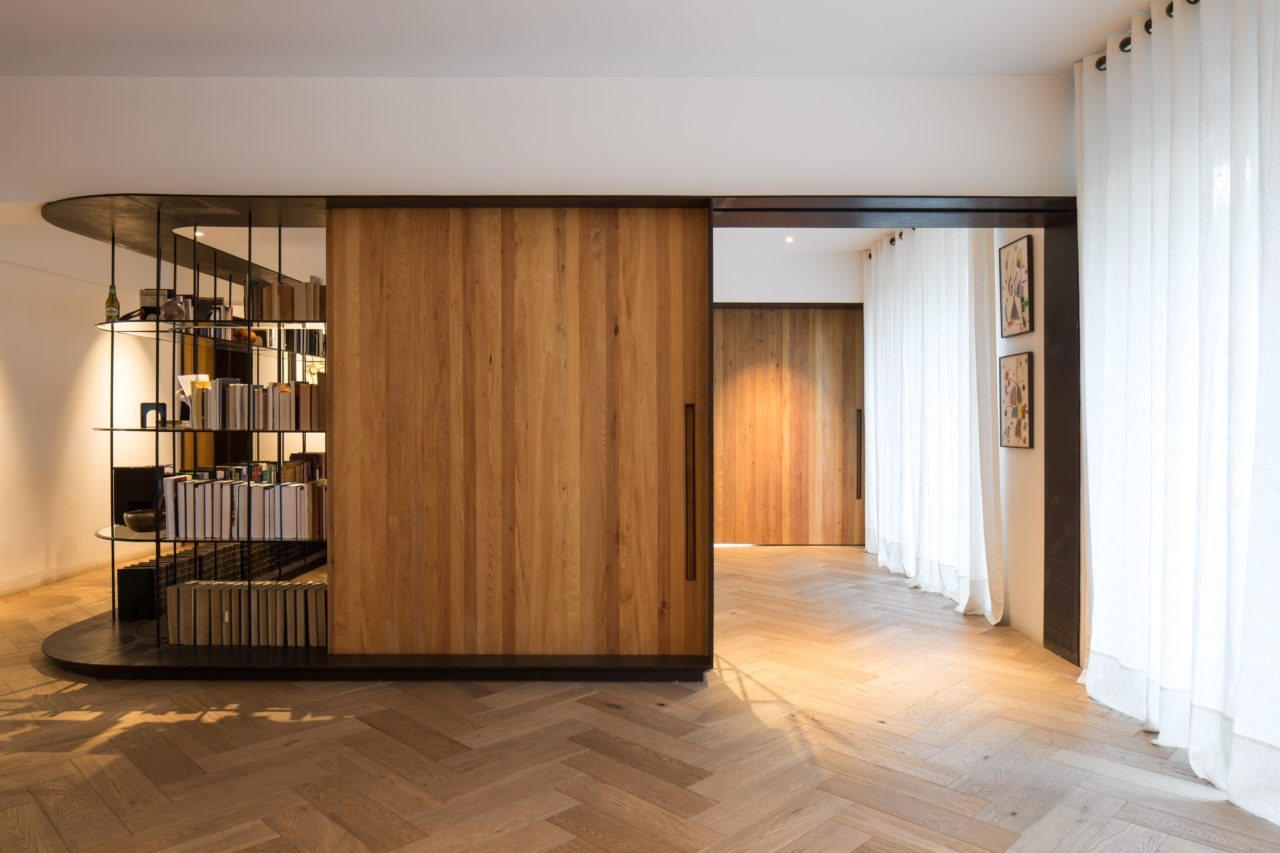 Apartment in Parque Forestal by Aguilo+Pedraza Arquitectos