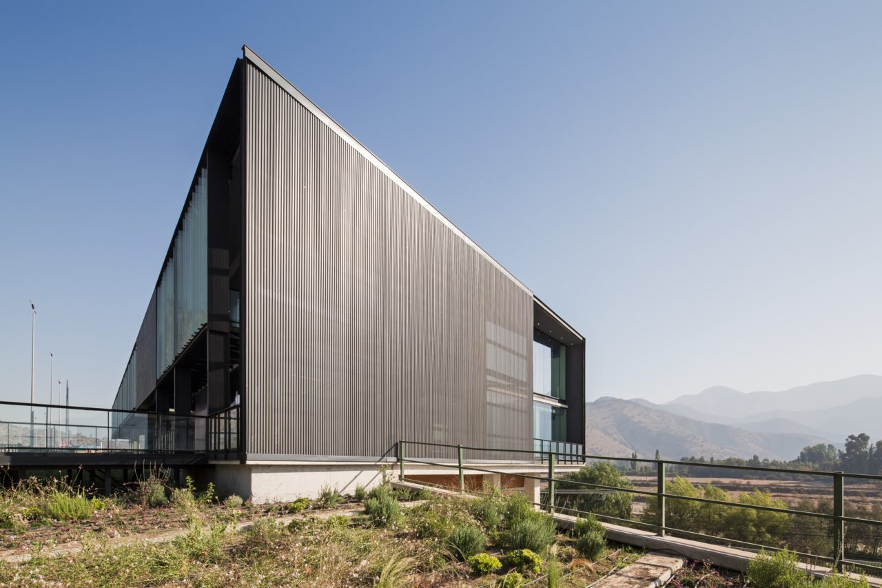 Angostura Toll Control Building by BCA